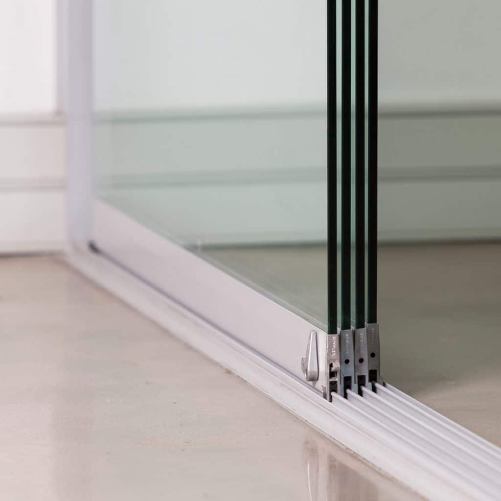 sunflex-about_slider; Sunflex SF20 frameless glass sliding door system ... & Approved Installers - Sunflex