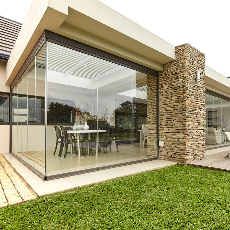 Frameless Glass Stacking Doors Patio Doors Sunflex